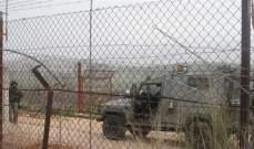 النشرة: قوة اسرائيلية تجتاز السياج التقني في منطقة الوزاني