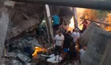 الدفاع المدني: السيطرة على الحريق الذي اندلع في محطة وقود في بخعون