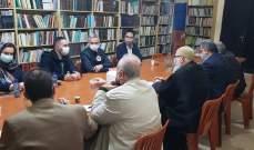 رئيس البعثة الدولية للصليب الاحمر زار عين الحلوة والتقى القوى الفلسطينية