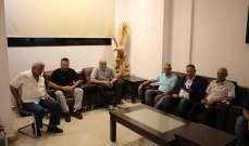 أسامة سعد إلتقى أهالي موقوفي عبرا