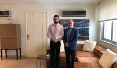 تيمور جنبلاط عرض وسفير استراليا الاوضاع في لبنان والمنطقة
