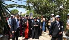 الخوري ابو كسم شكر الراعي على زيارته التاريخيّة الى بيصور