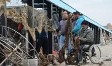 النشرة: كميات من الأوساخ وبقايا النفايات علقت في شباك صيادي الاسماك في صيدا
