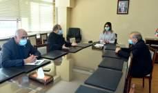 عبد الصمد اجتمعت ونقيبا الصحافة والمحررين ومحفوظ : لتسهيل عمل الإعلاميين دون قيود