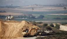 توغل إسرائيلي محدود شمال غزة وإطلاق نار على الأراضي الزراعية شرقا