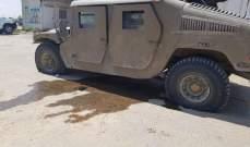 الجيش الاسرائيلي: اضرار بمركبة عسكرية جراء عملية فلسطينية بطائرة مسيرة اطلقت من غزة