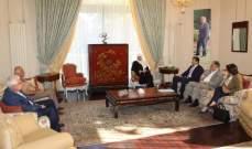 الحريري اطلعت من لحود على وتيرة تقديم طلبات سندات التعمير: الخطوة التالية إعادة تأهيل المنطقة