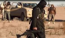 النشرة: داعش شن هجوما مباغتا على مواقع الجيش السوري في بادية حمص