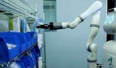 روبوت يقوم ببعض المهام اللوجستية يحل محل البشر في المستشفيات