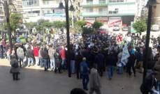 اهالي الموقوفين الاسلاميين يعتصمون في طرابلس مطالبين بالعفو العام