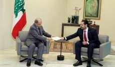 مصادر للنشرة: اصرار رئيس المكلف على شكل الحكومة يتطلب الاتفاق مع رئيس الجمهورية