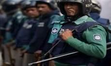 أ.ف.ب: مقتل شاب بحادث سير يشعل التظاهرات في بنغلادش