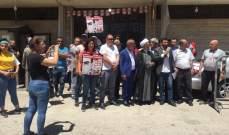 اعتصام أمام قصر العدل في بعلبك للمطالبة باستقلالية القضاء