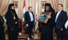 باسيل زار دار مطرانية عكار وتوابعها للروم الارثوذكس في مناسبة الاعياد