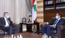 الحريري بعد لقائه اديب: نتمنى له النجاح والتوفيق بمهمته بتشكيل الحكومة