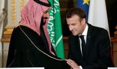 RT: ماكرون وبن سلمان اتفقا على ضرورة حل الأزمة اللبنانية عبر الحريري