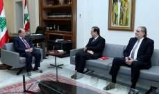 فوشيه التقى الرئيس عون:لتشكيل حكومة جديدة  تتجاوب مع تطلعات اللبنانيين