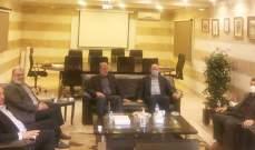 حماس جالت على قادة الأجهزة الأمنية جنوبا والتقت الحريري: سنبقى صمام أمان للمخيمات