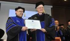 جامعة الروح القدس تمنح دكتوراه فخرية لرئيس اساقفة ساو باولو بالبرازيل