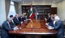 الرئيس عون عرض مع تكتل نواب بعلبك - الهرمل اوضاع المنطقة