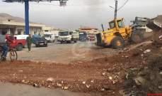 النشرة: إعادة فتح طريق راشيا- الصويري وفك الاعتصام بطلب من الجيش