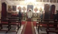 النشرة: إقتصار احتفالات عيد الفصح في حاصبيا على قداس بكاتدرائية مار جاورجيوس