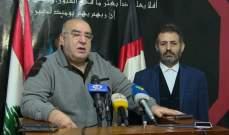 حمدان: نطالب الحكومة الجديدة بتنظيم أوضاع الفلسطينيين والسماح لهم بالعمل