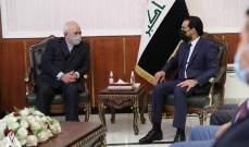 الحلبوسي خلال لقائه ظريف: استقرار العراق ينعكس على جيرانه والمنطقة