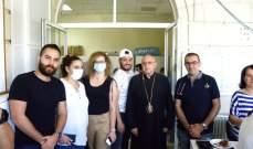 اقفال قسم كورونا في مستشفى تل شيحا