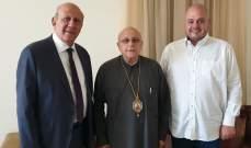 درويش عرض مع زغيب للتحضيرات لمؤتمر الإنتشار الزحلي واحتفالات مئوية إعلان لبنان الكبير