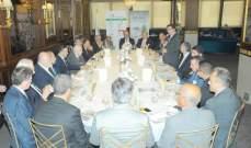تجمع رجال الاعمال ناقش مع ابو غزالة اطلاق مبادرة لتأسيس شبكة عالية السرعة