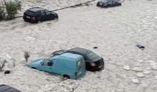 رئيس بلدية الشويفات: الرغوة البيضاء التي ظهرت بالعاصفة غير معروفة لأن أحداً لم يفحصها