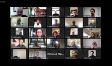 ملتقى التاثير المدني نظم لقاء إلكترونيا