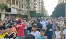 مسيرة احتجاجية جابت شوارع الميناء وطالبت بتشكيل حكومة مستقلين توقف الانهيار