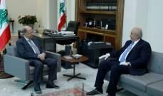 مخزومي التقى الرئيس عون: لإيجاد حل للأزمة المعيشية والمعابر غير الشرعية