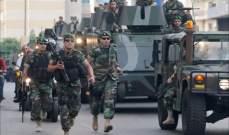 النشرة: استدعاء وحدات إضافية من الجيش الى سراي طرابلس بعد تطور المواجهات