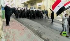 مسيرة في الجولان المحتل في ذكرى الاضراب ضد الاحتلال الإسرائيلي 1982