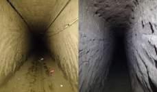 الجيش المصري: اكتشاف وتدمير 3 أنفاق رئيسية على الشريط الحدودي بشمال سيناء