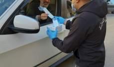 أمن الدولة: توزيع كمامات ببلدات النبطية وأحياء بيروت لمكافحة كورونا