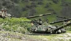 الدفاع الأرمينية: قوات أذربيجان قصفت قطعة عسكرية أرمنية قرب حدود إيران