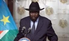 رئيس حنوب السودان أكد دعمه لاتفاق الخرطوم