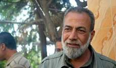 """المقدح: الوضع بعين الحلوة طبيعي والمفاوضات مستمرة لتسليم المتورطين باغتيال """"أبو الكل"""""""