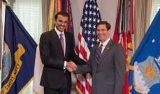 أمير قطر: سنعمل مع أميركا عن كثب للحد من التصعيد في المنطقة