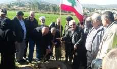 بلدية الخيام تنظم حملة غرس صنوبر قبالة مستوطنة المطلة