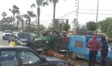 النشرة: حادث سير مروع في منطقة الحسبة في صيدا