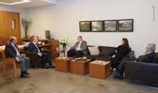 جعجع التقى ممثل الأمين العام للأمم المتحدة في لبنان