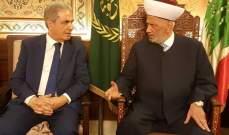 قاسم عبد العزيز: الدولة هي مرجعيتنا ونطلب من الجيش ان يحمي أهالي عرسال