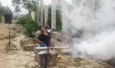 بلدية جبيل بدأت بمكافحة حشرة النمنوم
