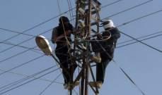 سرقة خطوط شبكة الكهرباء في الطرف الجنوبي من بلدة ضهر المغارة