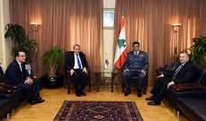 اللواء عثمان عرض للأوضاع العامة في البلاد مع السفير المصري